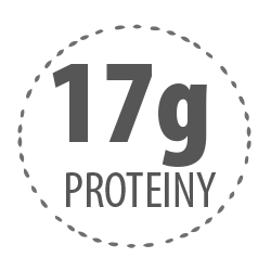 17g proteinů