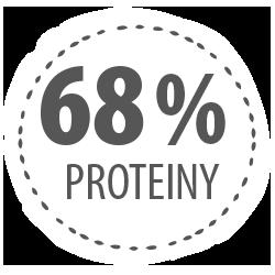 68 proteinů