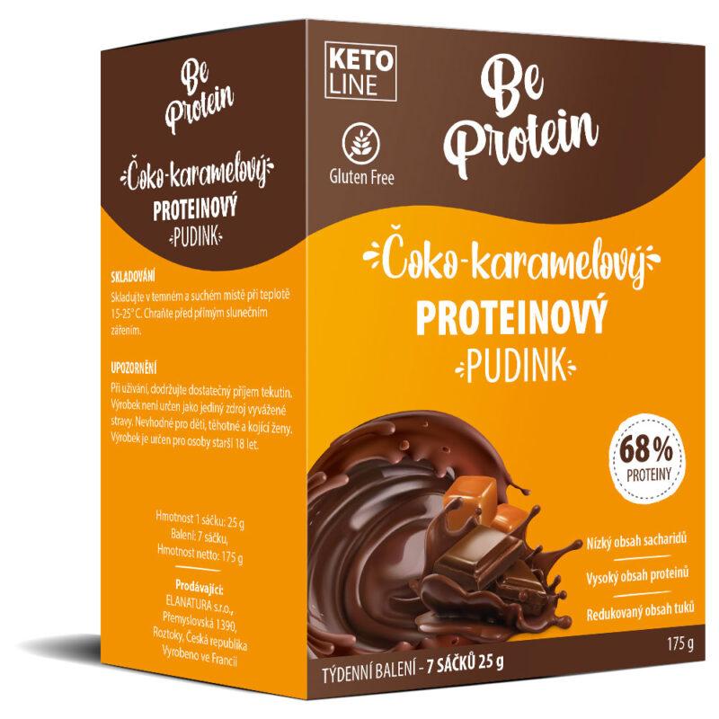 proteinový pudink coko-karamelovy