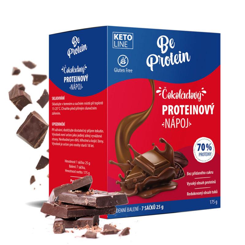 proteinový nápoj čokoládový