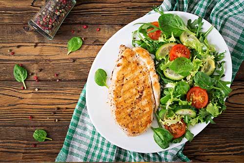 keto dieta protein