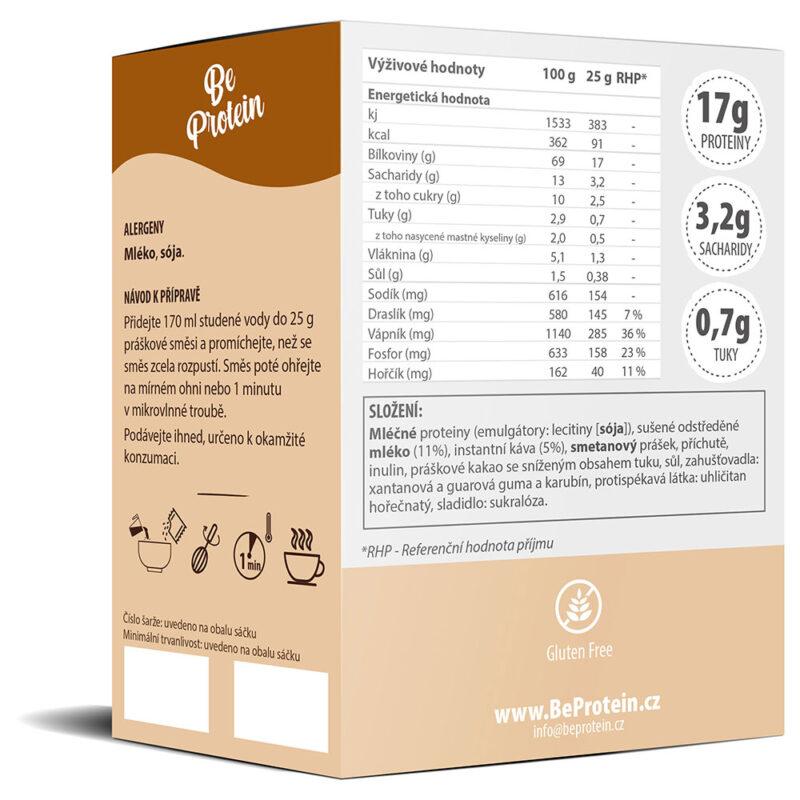 proteinový nápoj caffè latte