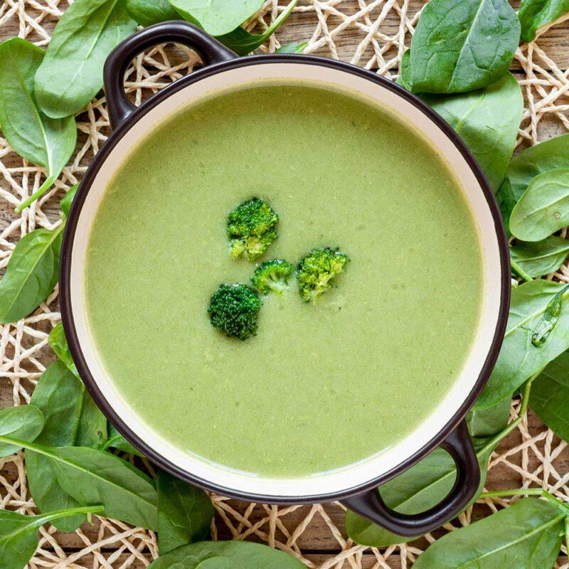 proteinová polévka zeleninová