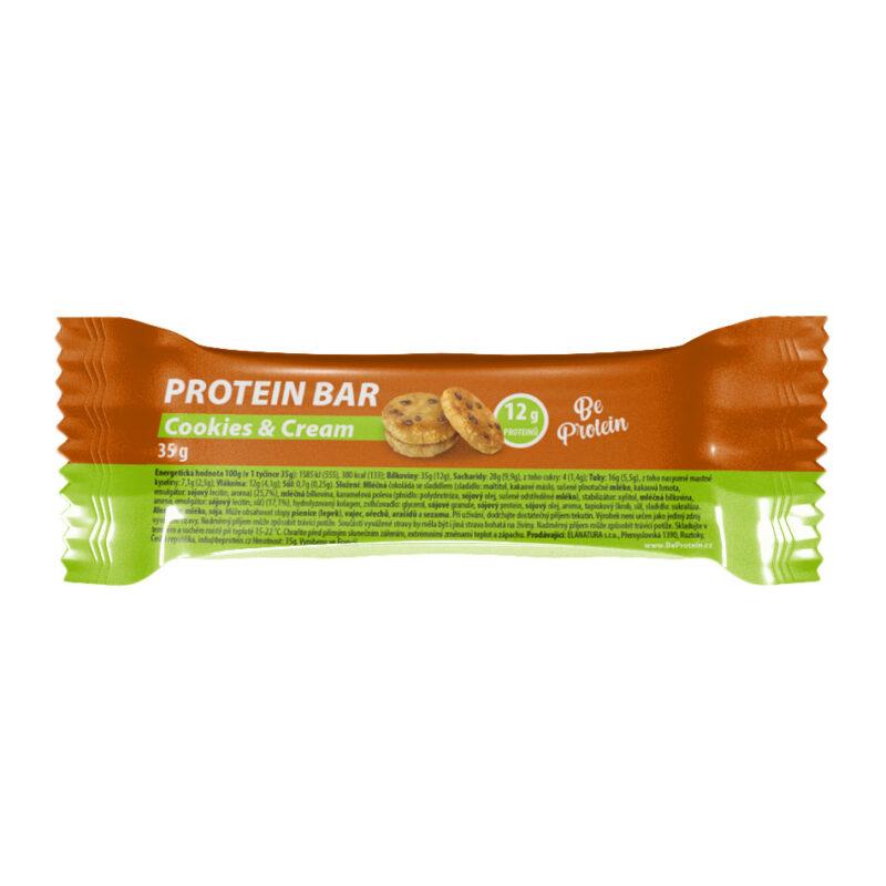proteinová tyčinka cookies&cream