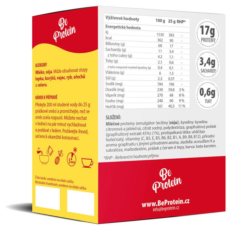 proteinový drink grepový