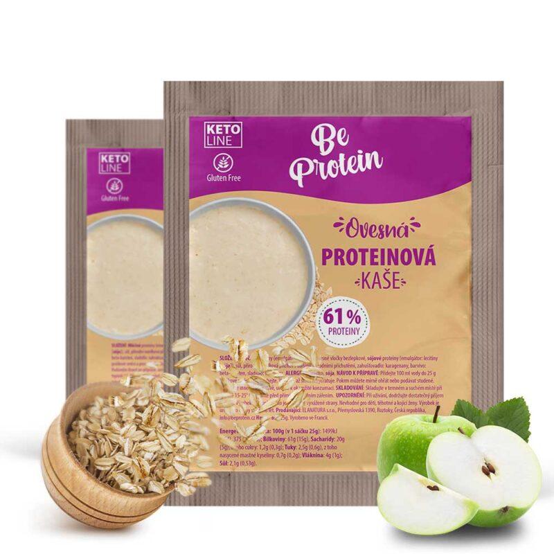 proteinová kaše ovesná