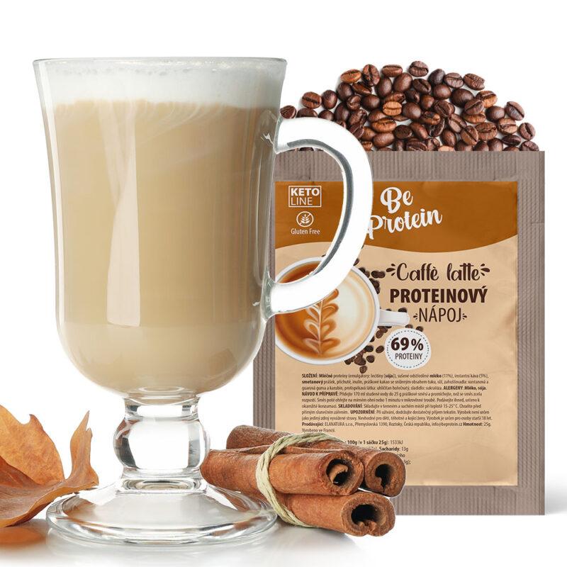 proteinový nápoj caffe latte