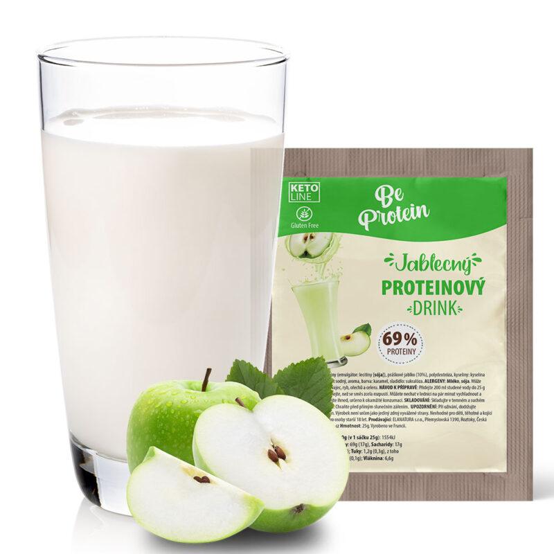 proteinový džus jablečný