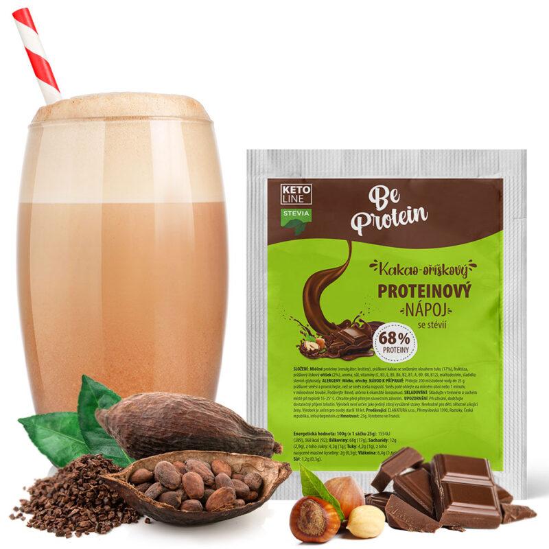 proteinový nápoj kakao-oříškový