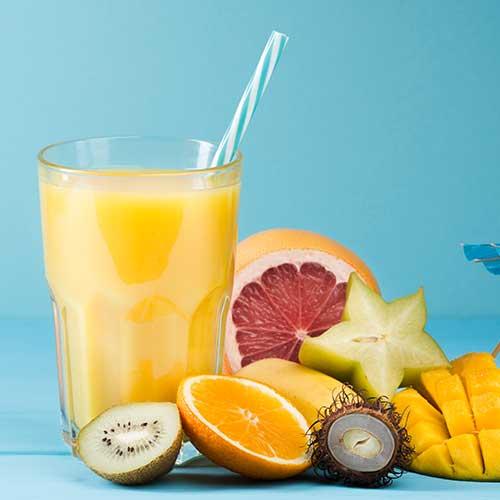 proteinové ovocné nápoje
